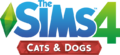 File:The Sims 4 Cats & Dogs Logo.png