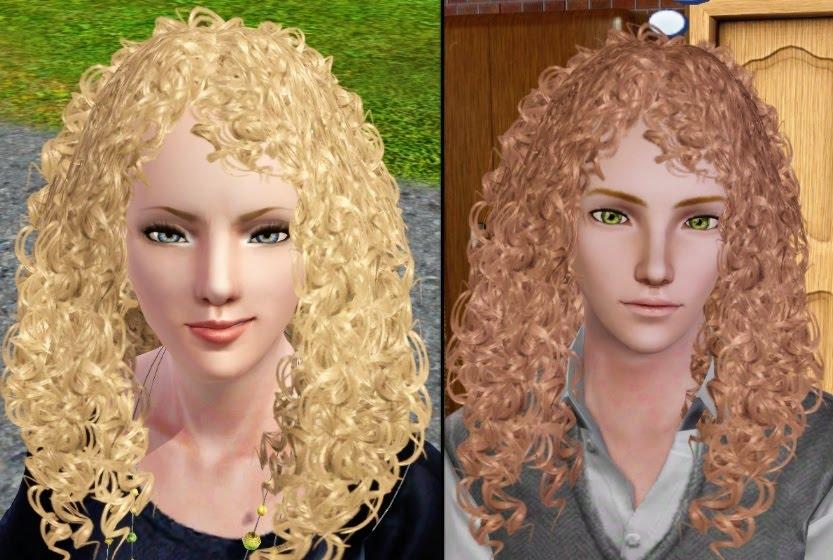 sims 3 wavy hair download