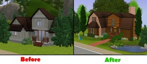 Sims 2 house layout ideas