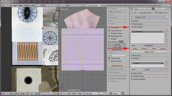 Tutorials:Simple Mesh Replacement In Blender-Bones