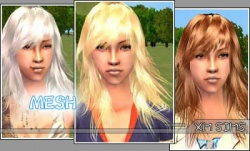 Hair Gallery/Female Hair/XM Sims - SimsWiki