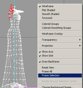 how to choose area of mesh refinement
