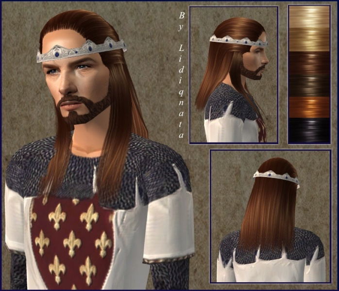 Огромные прически средневековья