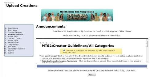 Upload creations - Announcements.jpg