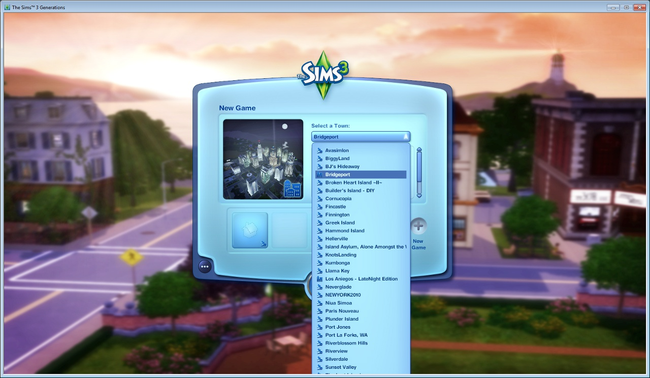 File:Worlds list before 1 39 - windowed jpg - SimsWiki