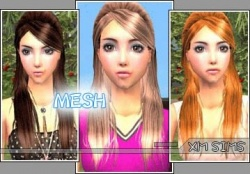 Hair Gallery/Female Hair/XM Sims - SimsWiki
